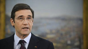 Le Premier ministre portugais Pedro Passos Coelho