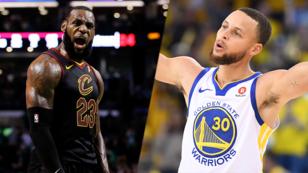 LeBron James, de los Cleveland Cavaliers, y Stephen Curry, de los Golden State Warriors, se medirán nuevamente en una final de la NBA por cuarto año consecutivo.