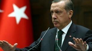 Le président turc Recep Tayyip Erdogan appelle ses concitoyens à échanger leurs devises étrangères. (Image d'archive)
