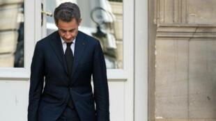 Nicolas Sarkozy, le 25 mars 2013, à Paris.