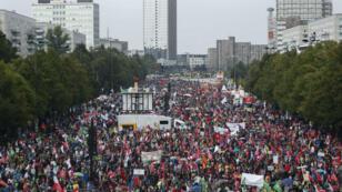 Le rassemblement contre le TTIP a rassemblé entre 50 000 et 70 000 personnes à Berlin le 17 septembre 2016.