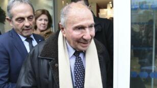 Serge Dassault el 7 de febrero en París.
