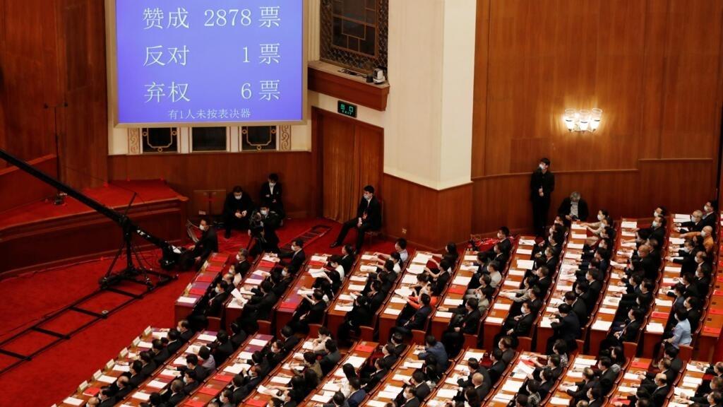 Sans surprise, Pékin adopte le projet de loi sur la sécurité nationale à Hong Kong