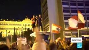 Juventud libanesa lidera las protestas