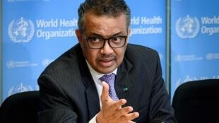 World Health Organization (WHO) Director-General Tedros Adhanom Ghebreyesus (pictured March 2020) said investing now would save lives later, as the death toll from COVID-19 surged past 250,000