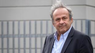 L'ancien directeur de l'UEFA Michel Platini, à Berne le 31 août 2020