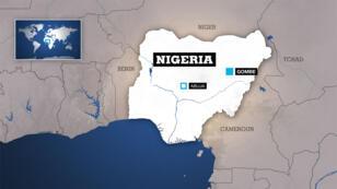 Une double explosion a frappé le marché de Gombe, dans le nord-est du Nigeria, le 16 juillet 2015.