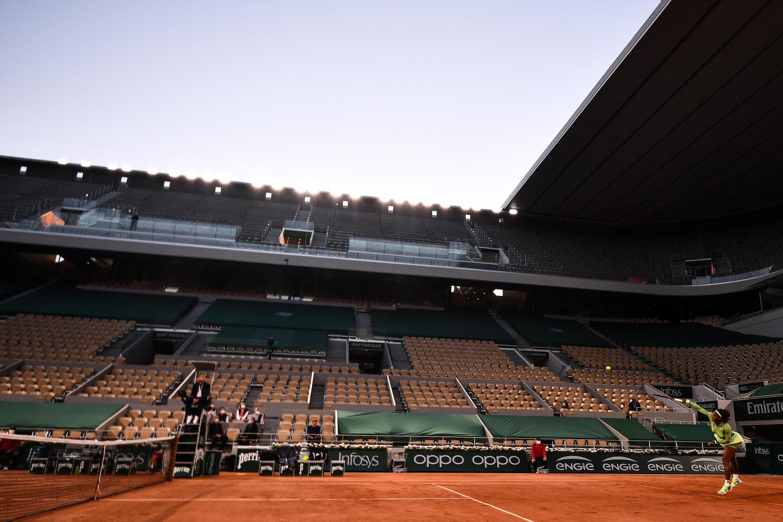 Serena williams session nocturne Roland-Garros