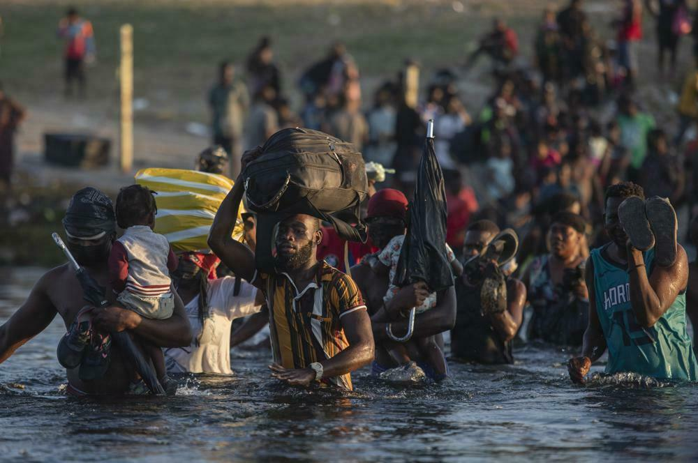 migrantes haití