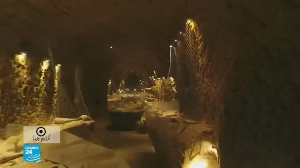 صورة ملتقطة من شاشة فرانس 24