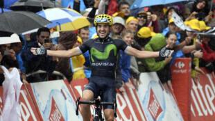 Première victoire sur le Tour de France pour l'Espagnol Ion Izagirre.