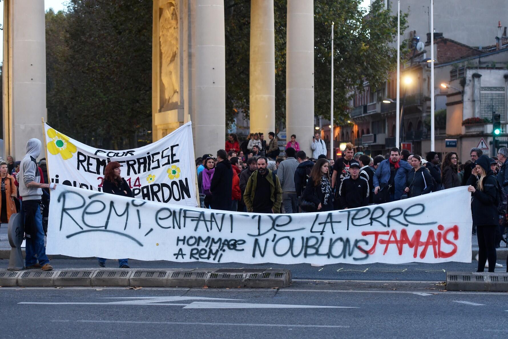 Manifestation Remy Fraisse