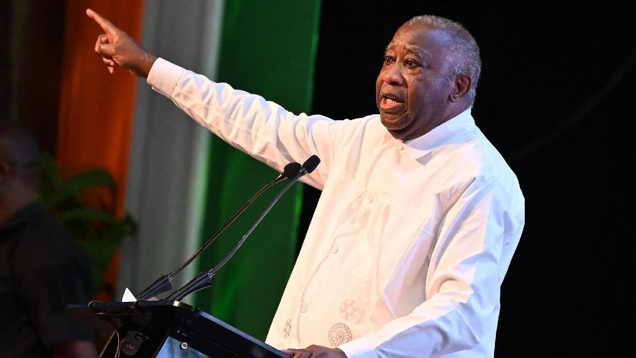 PHOTO Laurent Gbagbo - Abidjan - 17 octobre 2021