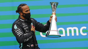 Lewis Hamilton equalled one of Michael Schumacher's host of records by winning the Hungarian Grand Prix