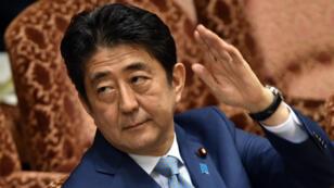Le Premier ministre japonais Shinzo Abe, le 10 août 2015.