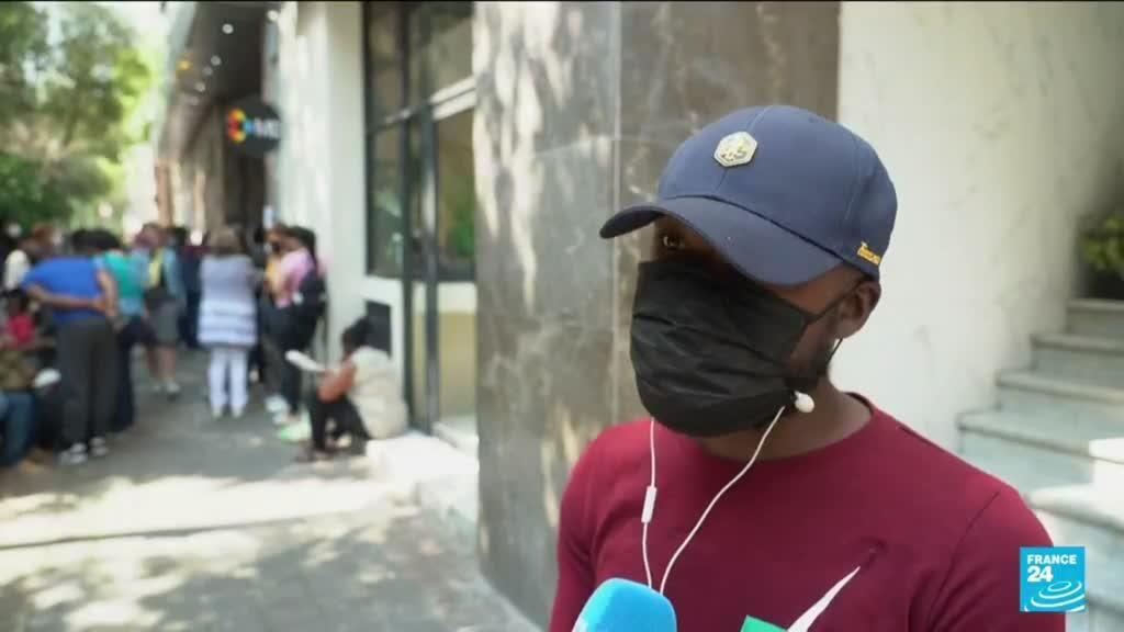 2021-09-30 10:04 Au Mexique, l'espoir de régularisation des migrants Haïtiens