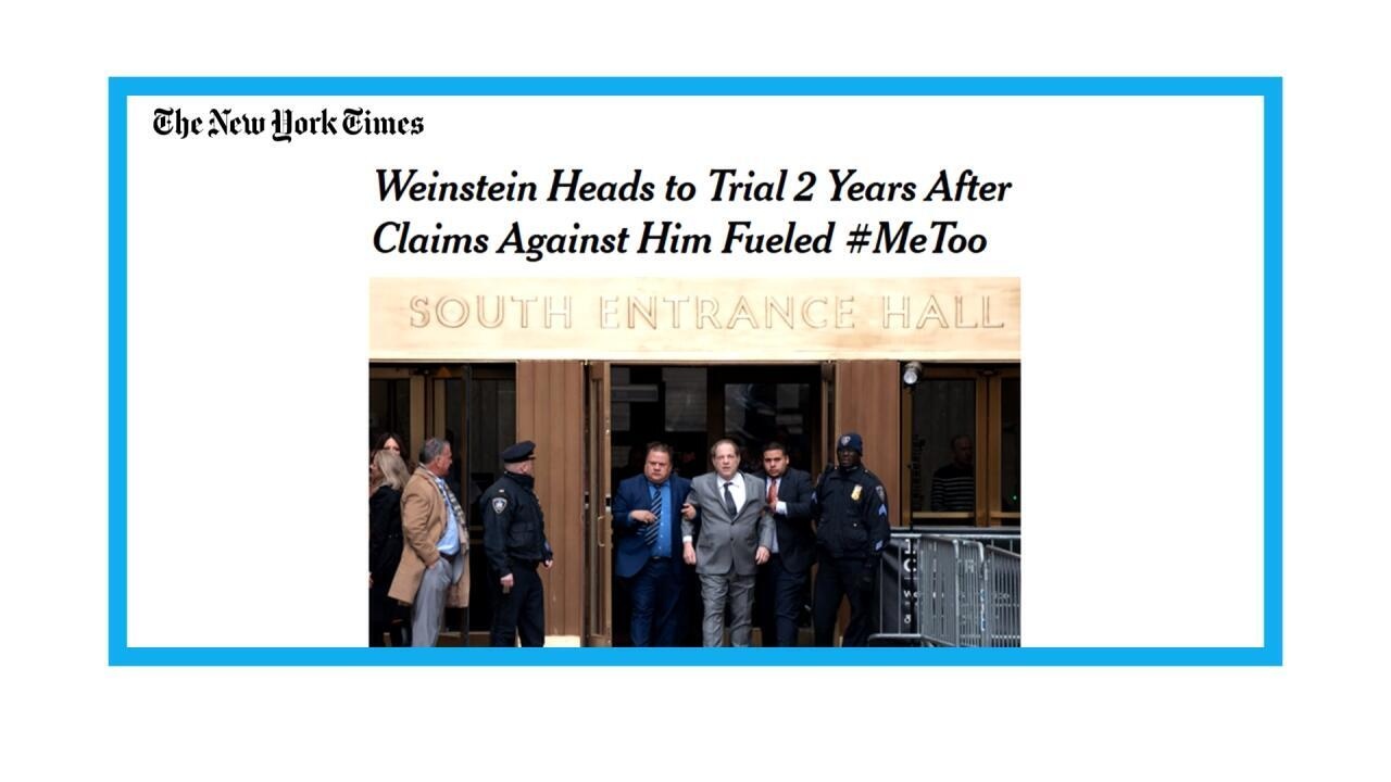 Ouverture du procès Weinstein à New York