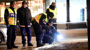 Sweden knife attack police investigating