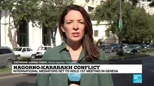FRANCE 24 reports from Baku