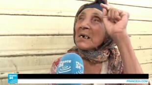 متسولة في شوارع تونس