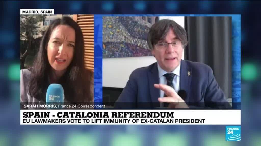 2021-03-09 09:32 EU Parliament strips Catalan separatists of immunity