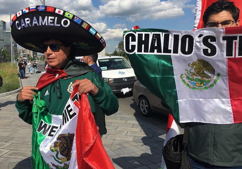 مشجعو المنتخب المكسيكي احتفلوا بفوز بلادهم بضيافة مونديال 2026