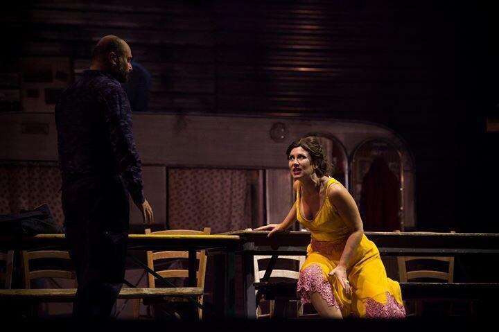 Laura Giordano incarne Carmen dans la production controversée du Teatro del Maggio.