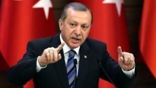 Douze agents de sécurité du président turc Recep Tayyip Erdogan font l'objet de mandats d'arrêt américains.