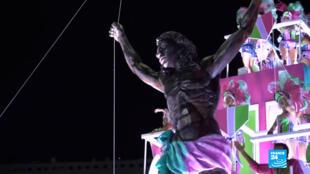 Este es el Cristo que enfureció a la comunidad cristiana en Río de Janeiro. ¿Debe tener límites la libertad artística?