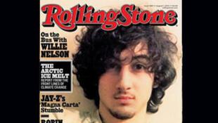 """Détail de la une de """"Rolling Stone"""""""