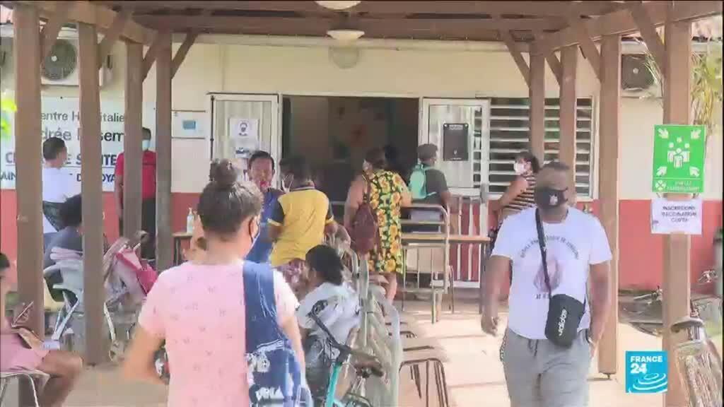 2021-04-16 04:04 Pandémie de Covid-19 en Guyane : la région d'outre-mer face au variant brésilien