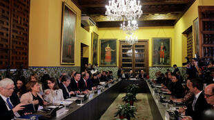 Representantes del Grupo de Lima en la cumbre del 3 de mayo de 2019 en Lima, Perú.