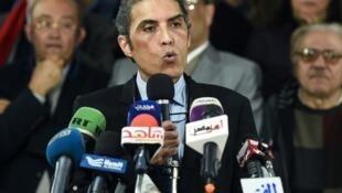 Khaled Dawoud, ancien responsable du parti libéral d'opposition Al-Dostour, a été déféré mercredi 25septembre 2019 devant la justice suite aux manifestations anti-Sissi.