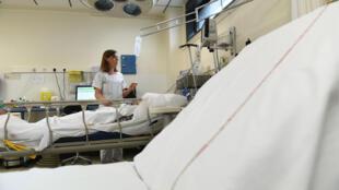 À l'hôpital de Lure, le 8 juin 2018