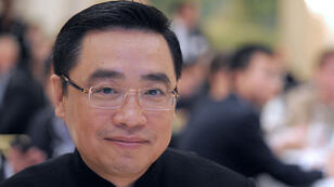 Wang Jian, 57 ans, ici en octobre 2012, avait fondé en 2000 le groupe chinois HNA.