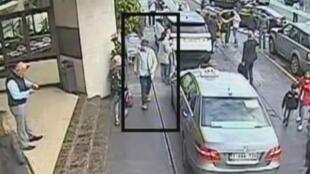 """La vidéo mise en ligne par la police belge montrait  jeudi 7 avril 2016 des nouvelles images de """"l'homme au chapeau"""" de l'aéroport de Zaventem."""