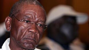 Le Premier ministre du Lesotho, Thomas Thabane.