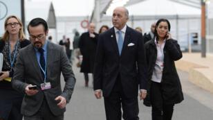 Laurent Fabius a mis la pression sur les négociateurs pour qu'ils accélèrent la cadence.
