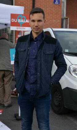 Paul Zilmia, 25 ans, candidat La France insoumise aux législatives