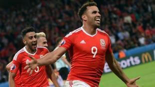 Pour sa première participation à l'Euro, le pays de Galles a atteint les demi-finales.