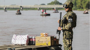 En vertu de l'accord passé le 7 juin avec les États-Unis, le Mexique a commencé à renforcer sa frontière Sud.