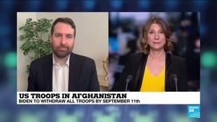 2021-04-14 12:02 NATO allies welcome US withdrawal from Afghanistan