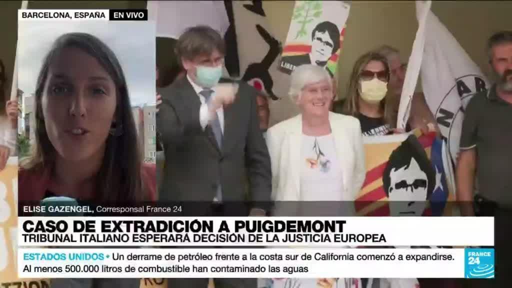 2021-10-04 18:09 Informe desde Barcelona: suspendido el proceso de extradición de Carles Puigdemont