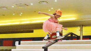Niveau skate, Sky Brown n'a rien à envier à ses aînés.