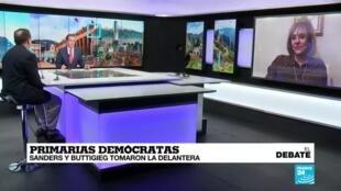 El Debate Primarias demócratas
