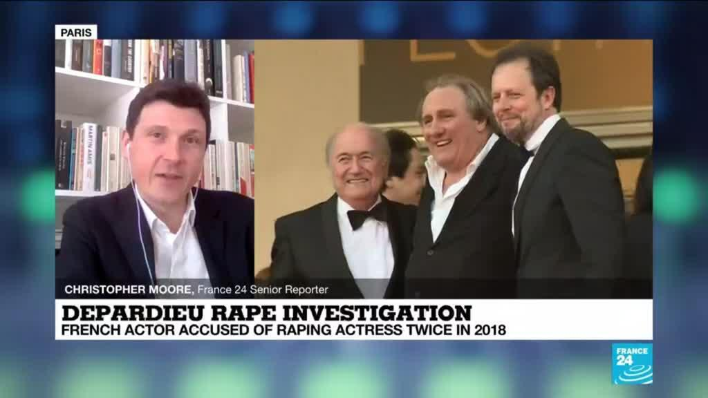 2021-02-24 14:10 Depardieu rape investigation: French actor accused of raping actress twice in 2018