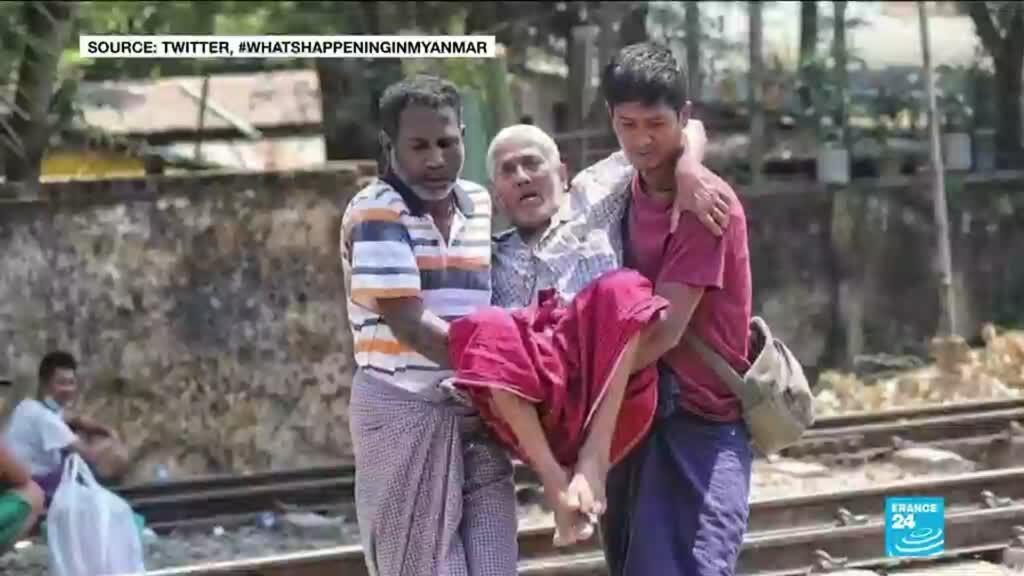 2021-03-10 17:08 Myanmar forces target railway workers over anti-coup strike