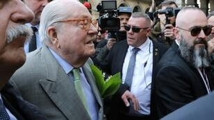 Le Pen is likely to be tried in absentia after he was hospitalised last month