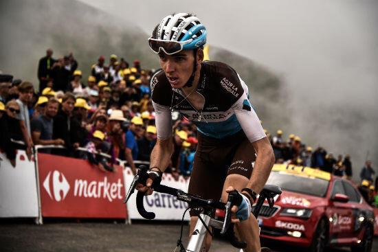 Romain Bardet lors de la 13e étape du Tour de France 2018.