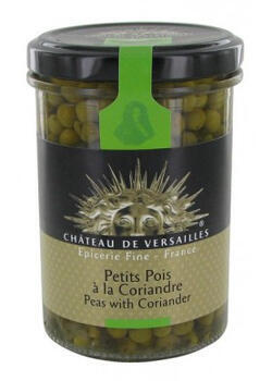 A jar of Versailles' cilantro-spiced peas can be yours for €7.35